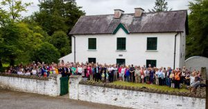 Gathered for Ballingarry Walk 2017